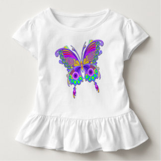 Butterfly Colorful Tattoo Style Toddler T-Shirt