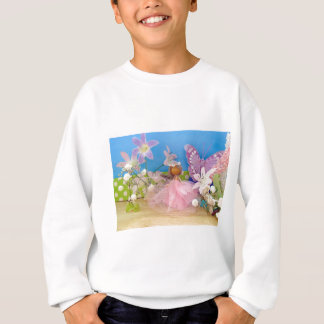 butterfly comes to call.jpg sweatshirt