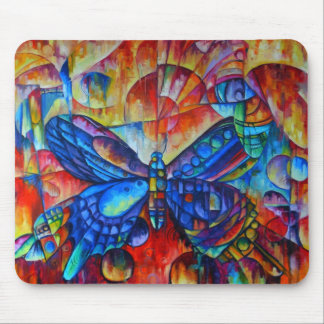 Butterfly Composition ... 2006, Oil on canvas, 62 Mouse Pad