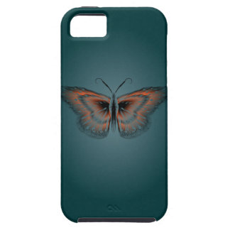 Butterfly Contour Case iPhone 5 Cases