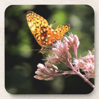 Butterfly Cork Coaster