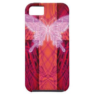 Butterfly cross iPhone 5/5S case