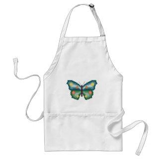 Butterfly Cross Stitch Standard Apron