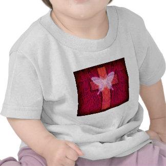 Butterfly cross t-shirt