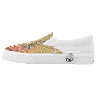 Butterfly Custom Zipz Slip On Shoes