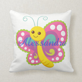 Butterfly cute animal baby kids room colorful cushion
