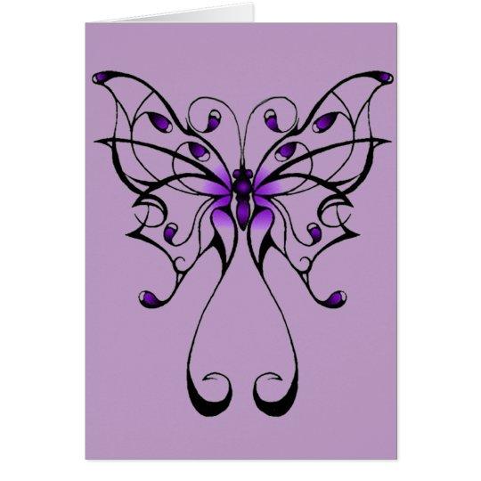 Butterfly Dance Card