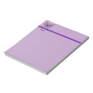 Butterfly Dance Notepad