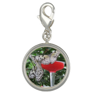 Butterfly dance photo charm