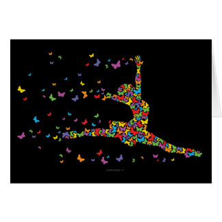 Butterfly Dancer Greeting Card