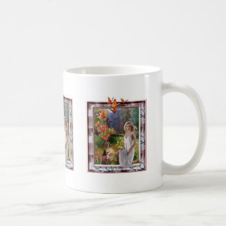 Butterfly Dawn Basic White Mug