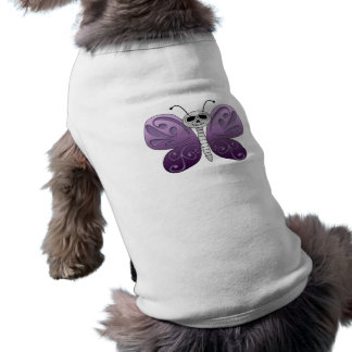 Butterfly Day of the Dead Design Pet Shirt