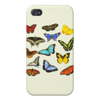 Butterfly Delight iPhone 4/4S Cover