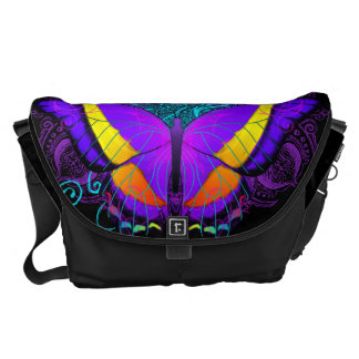 Butterfly Delight Large Courier Bag