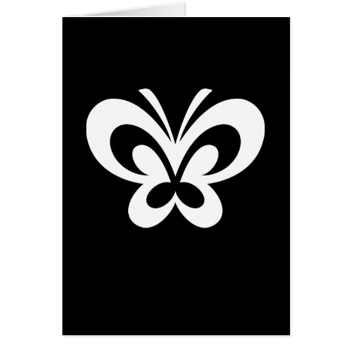 Butterfly Design Card