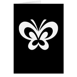 Butterfly Design Greeting Card