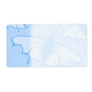 Butterfly Design in Blue.