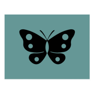 Butterfly Design Post Card
