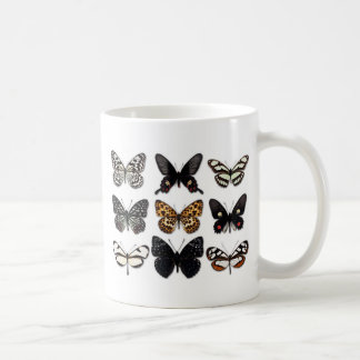 Butterfly Display Coffee Mug