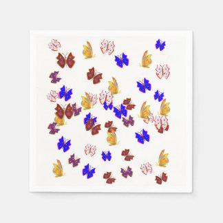 Butterfly Disposable Serviettes
