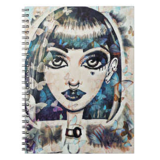 Butterfly Doll Notebooks