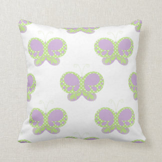 Butterfly Dots American MoJo 20x20 Pillow