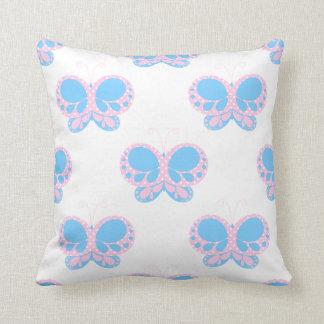 Butterfly Dots American MoJo 20x20 Pillow