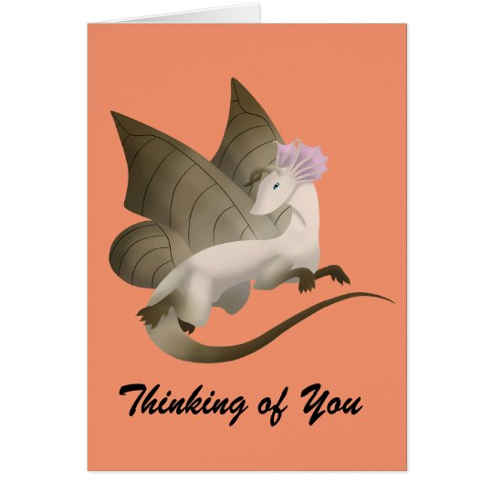 Butterfly Dragon Greeting Card 2