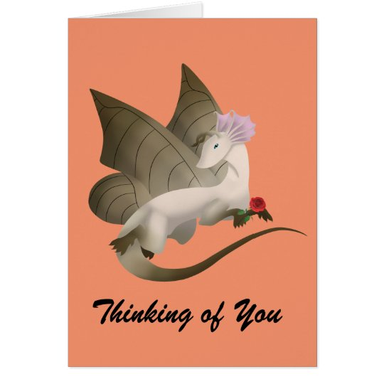 Butterfly Dragon Greeting Card 3
