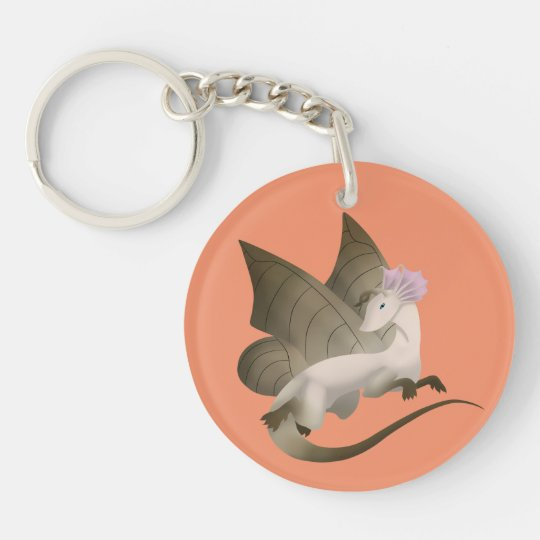 Butterfly Dragon Keychain 2