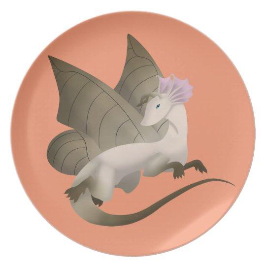Butterfly Dragon Melamine Plate 2