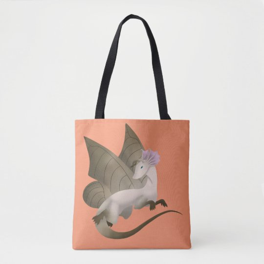 Butterfly Dragon Tote Bag 4