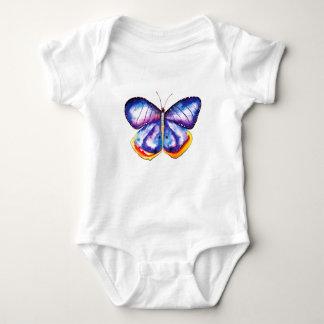 Butterfly Drawing Baby Jersey Bodysuit