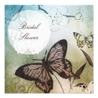 Butterfly Dream Bridal Shower Custom Invites