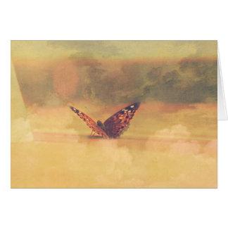 Butterfly dream *card* card