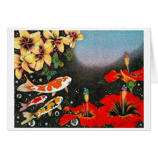 Butterfly Dream II (The Shape of Space) Card