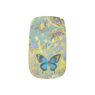 Butterfly Dream Nails Minx Nail Art