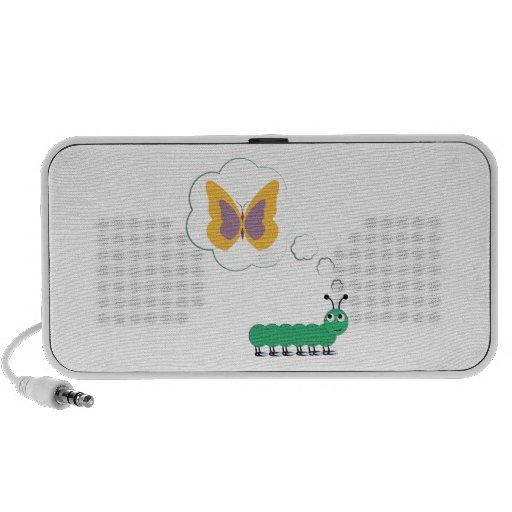 Butterfly Dream Mini Speakers