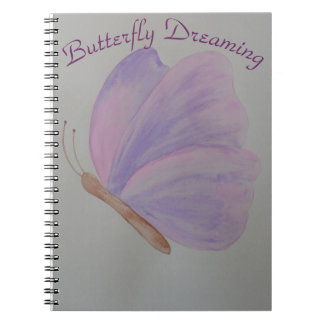 Butterfly Dreaming Spiral Notebook