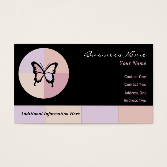 Butterfly Dreams $10 Punch Cards