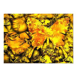Butterfly Dreams - 13 Cm X 18 Cm Invitation Card