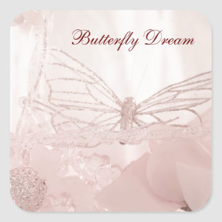 Butterfly Dreams collection Square Sticker