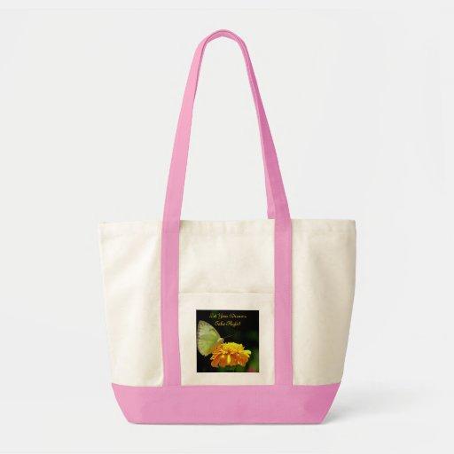 "Butterfly ""Dreams"" Impulse Tote Canvas Bag"