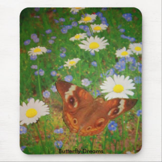 Butterfly dreams mouse pad