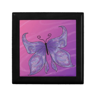 Butterfly Dreams Small Square Gift Box