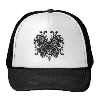 Butterfly Effect (b&w) Hats