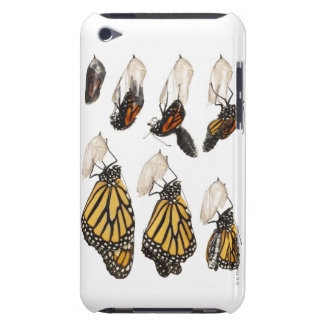 Butterfly emerging from coccoon Case-Mate iPod touch case