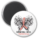 Butterfly Endometrial Cancer Awareness