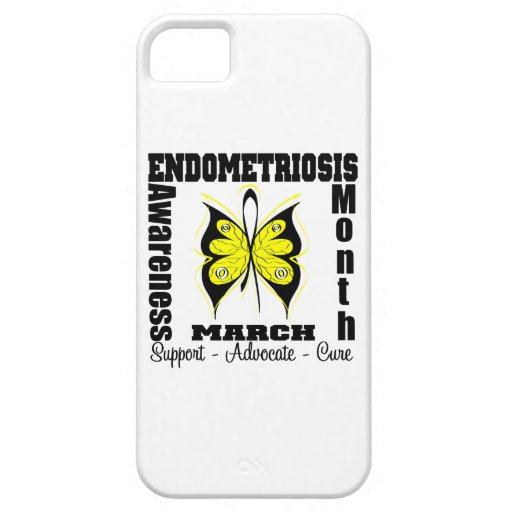 Butterfly Endometriosis Awareness Month iPhone 5/5S Case