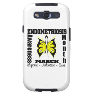 Butterfly Endometriosis Awareness Month Galaxy S3 Cases